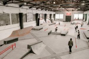 Wiedereröffnung Skatehalle Berlin